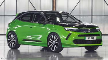 Vauxhall Mokka VXR - front (watermarked)