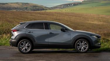Mazda CX-30 e-Skyactiv X - side
