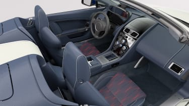 Aston Martin V8 Vantage Great Britain Edition - dash