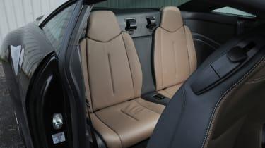 Peugeot RCZ GT rear seats