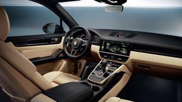 Porsche Cayenne - interior