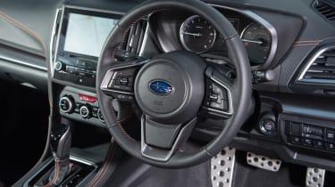 Subaru XV - interior