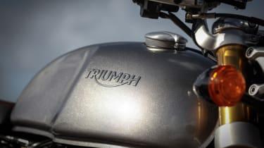 Triumph Thruxton R review - fuel tank