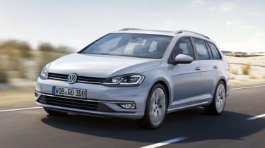 New 2017 Volkswagen Golf Estate - front