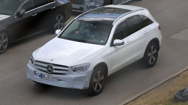 Mercedes GLC facelift front