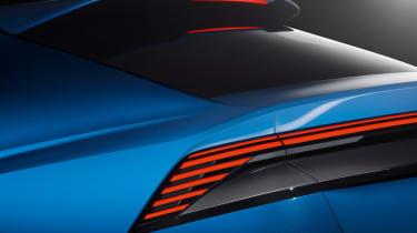 Audi Q8 SUV - rear light