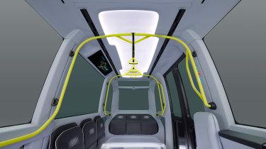 Toyota e-Palette - rails