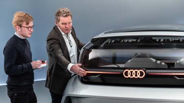 Audi AI:ME - James Brodie detail