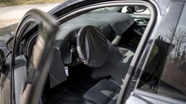 Porsche Macan prototype - dash