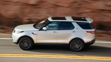 Land Rover Discovery 2017 side