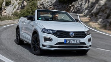 Convertible SUVs are a strange invention but it seems they're here to stay and Volkswagen is swelling the ranks with the T-Roc Cabriolet.