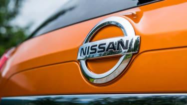 Nissan X-Trail - Nissan badge