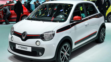 Renault Twingo 2014 at motor show