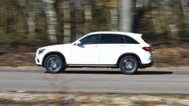 Mercedes GLC 350d 2017 - side tracking