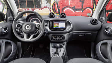 Smart ForTwo Electric Drive dash