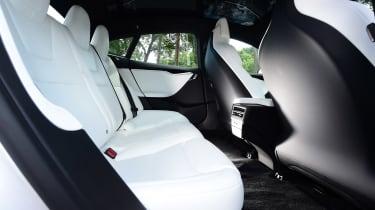 Tesla Model S 75D - rear seats