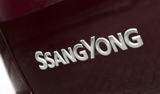 SsangYong Turismo - SsangYong badge