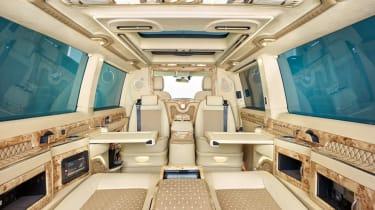 Klassen Volkswagen T6 Business rear seats