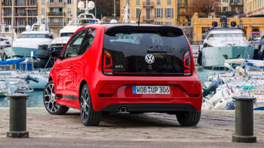 Volkswagen up! GTI - rear static