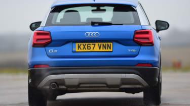 Audi Q2 - rear action