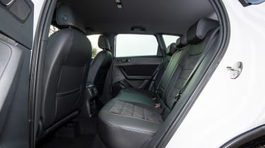 Cupra Ateca - rear seats