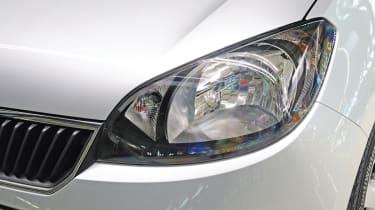 Skoda Citigo headlight detail