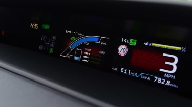 Toyota Prius Plug-in - instruments