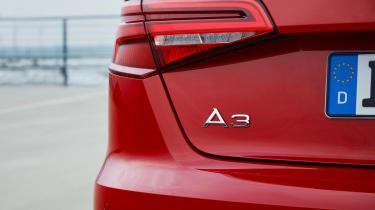 Audi A3 Sportback - A3 badge