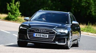 Audi S6 Avant - front cornering
