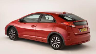 Honda Civic Mk9 - rear