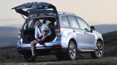Subaru Forester boot open