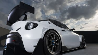 Toyota S-FR Racing Concept - rear three quarter low