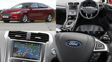 Ford SYNC 2 infotainment system - test car: Ford Mondeo