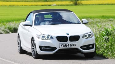 BMW 2 Series Convertible - front cornering