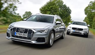 Audi A6 Allroad vs Volvo V90 Cross Country - header