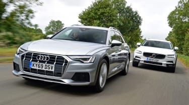 Audi A6 Allroad vs Volvo V90 Cross Country - header