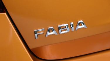 Skoda Fabia 2021 - badge