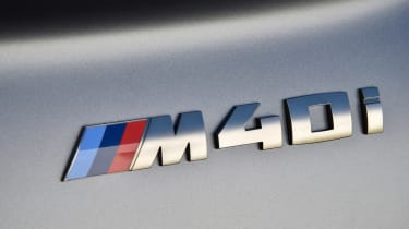 BMW Z4 - M40i badge