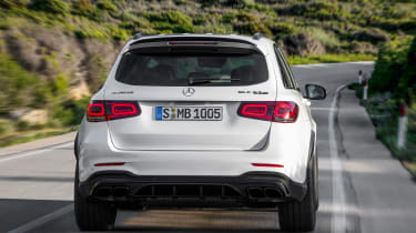 Mercedes-AMG GLC 63 - full rear action