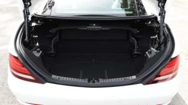 Mercedes SLC roadster 2016 - boot