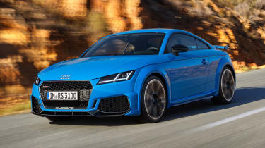 Audi TT RS Coupe - front action