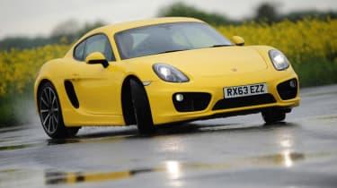 2014 Porsche Cayman front