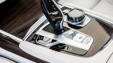 New BMW 7 Series 2015 gearstick
