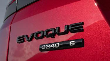 Range Rover Evoque - badge
