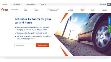 EDF website