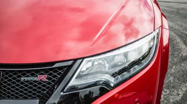 New Honda Civic Type R 2015 lights
