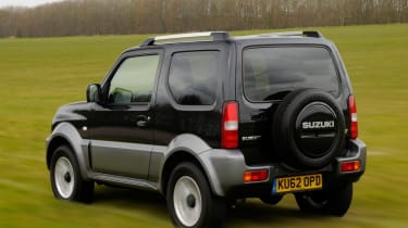 Used Suzuki Jimny - rear action