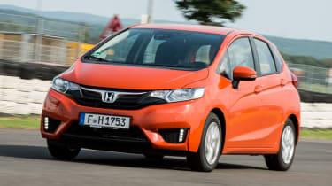 Honda Jazz - front action