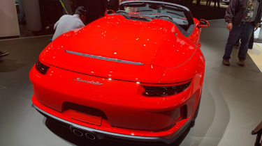 Porsche 911 Speedster - New York - rear 3/4