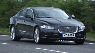 Jaguar XJ front tracking